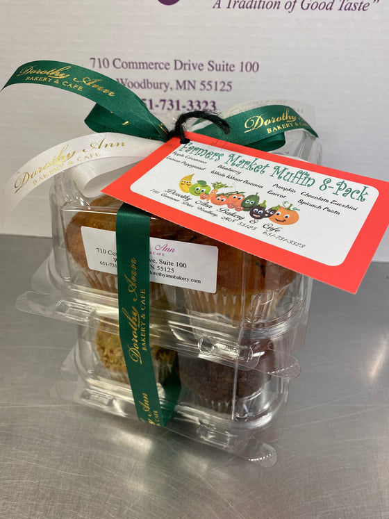 Farmers Market Muffin 8-Pack