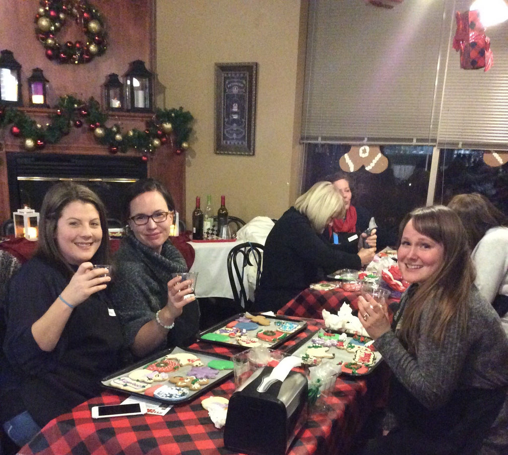 """Winter & Wine""  Cookie Decorating ( Adults over 21 only) Tuesday, Dec. 17, 6:00 - 7:30pm"