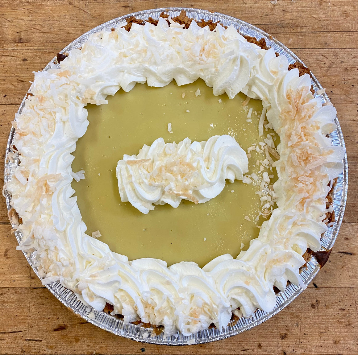 "9"" Gluten Friendly Coconut Key Lime Pie"