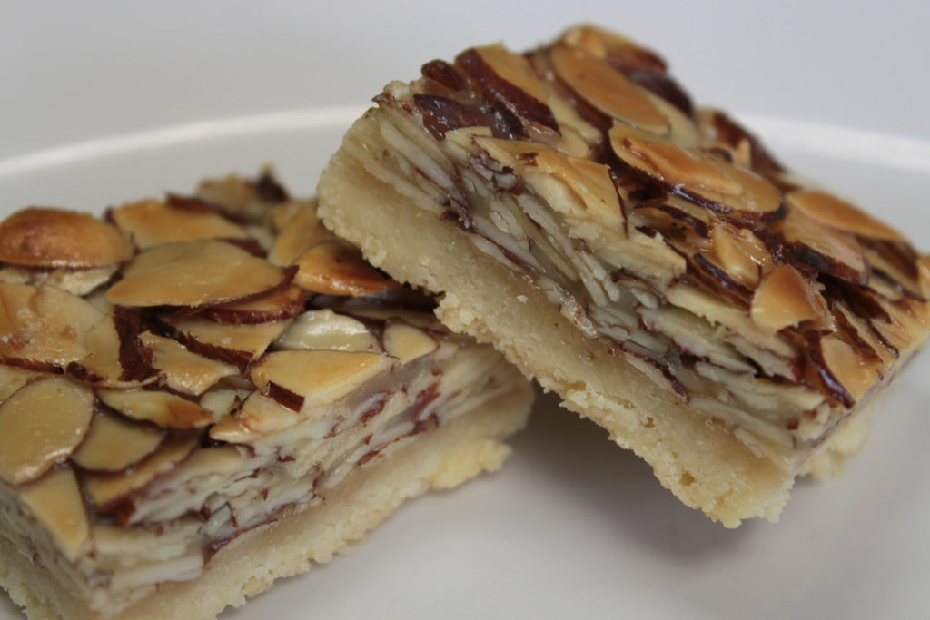 Caramel Almond Bars (2x2)