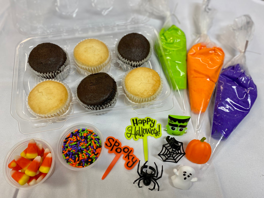 Decorate Your Own Spooky Cupcakes