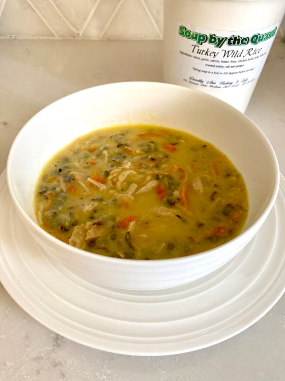 Soup Quart - Turkey Wild Rice