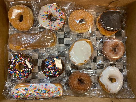Packaged Donut Variety Box