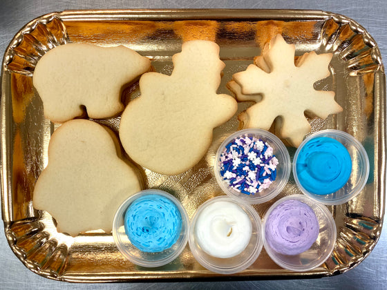 Decorate Your Own Cookies - Winter Theme