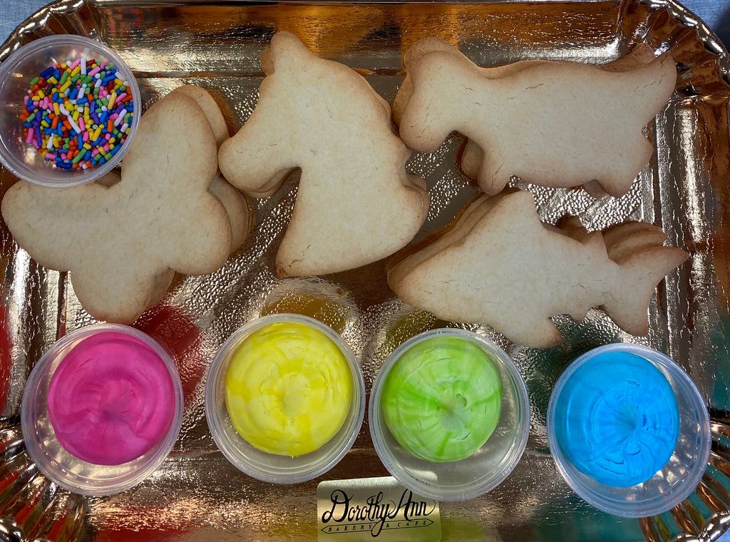 Decorate Your Own Cookie Tray- Kid Theme
