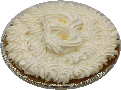 "9"" Banana Cream Pie"