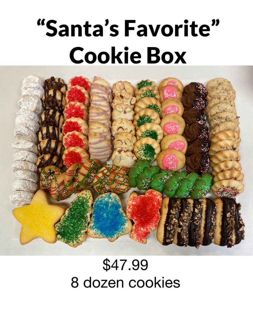 Cookie Exchange Thursday, December 17th  ($15.00 Reservation Fee)