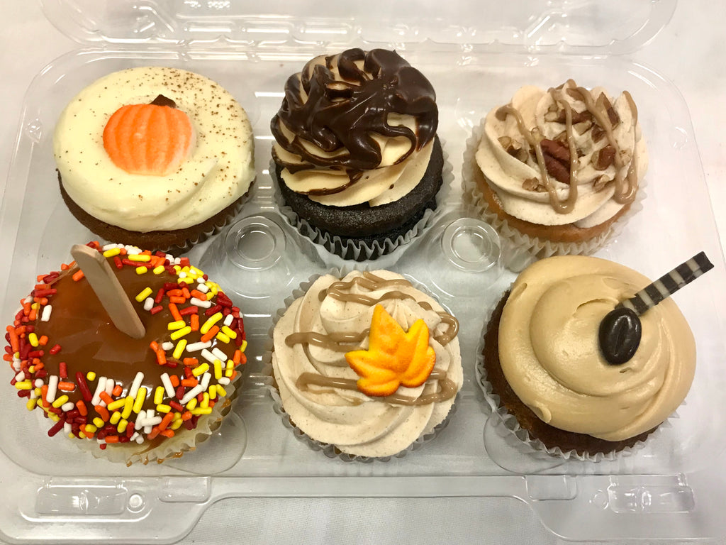 Fall Cupcake Sampler 6 pack