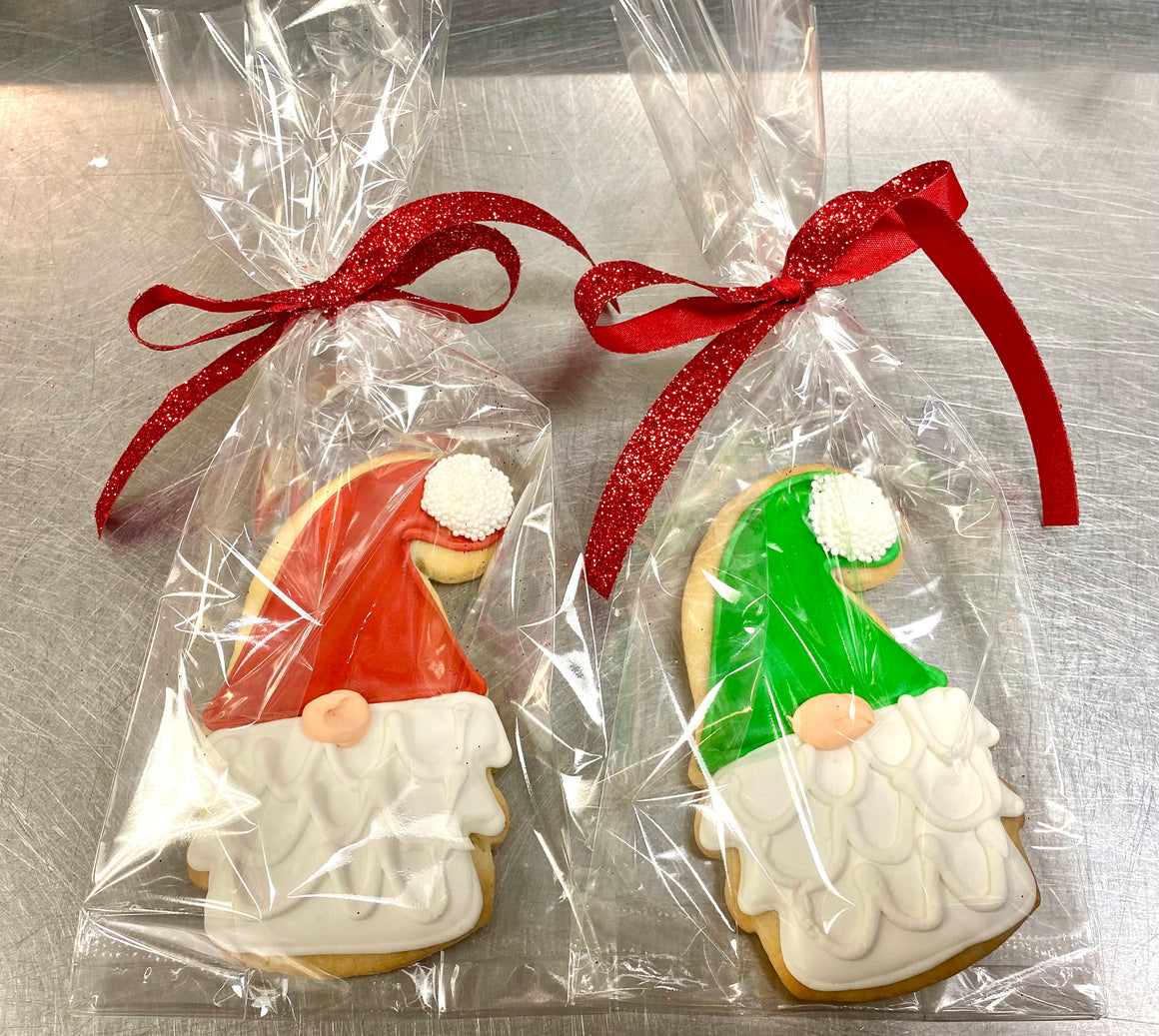 Gnome Stocking Stuffer Cookie