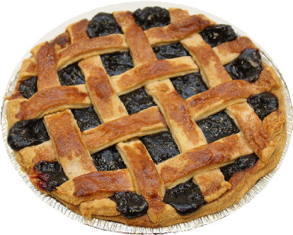 "9"" Blueberry Pie"