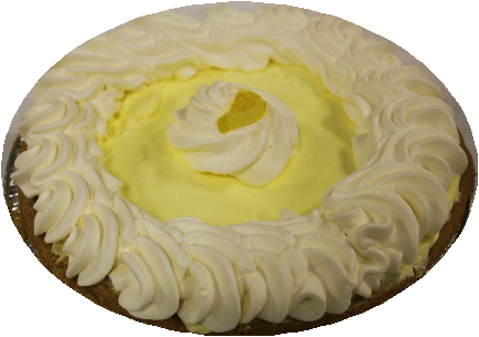 "9"" Lemon Cream Pie"