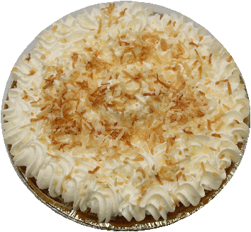 "9"" Coconut Cream Pie"