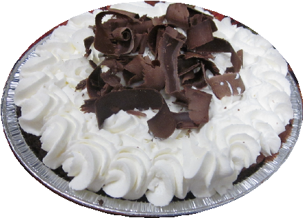 "9"" Chocolate Silk Pie"
