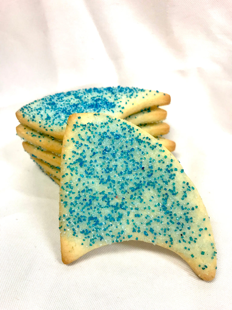 Shark Fin Sugared Cookie