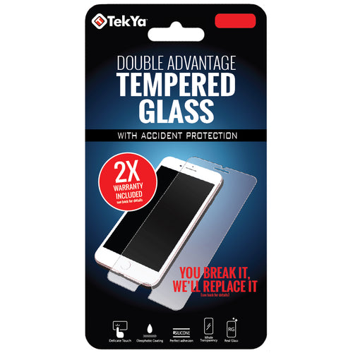 Double Advantage Tempered Glass