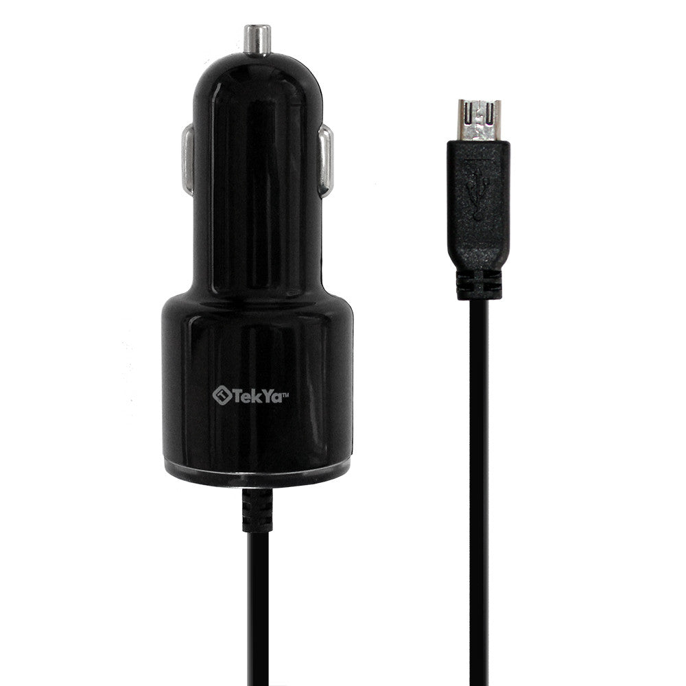 3.4Amp Universal MicroUSB Car Charger