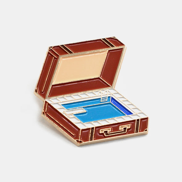 Pool Suitcase Pin