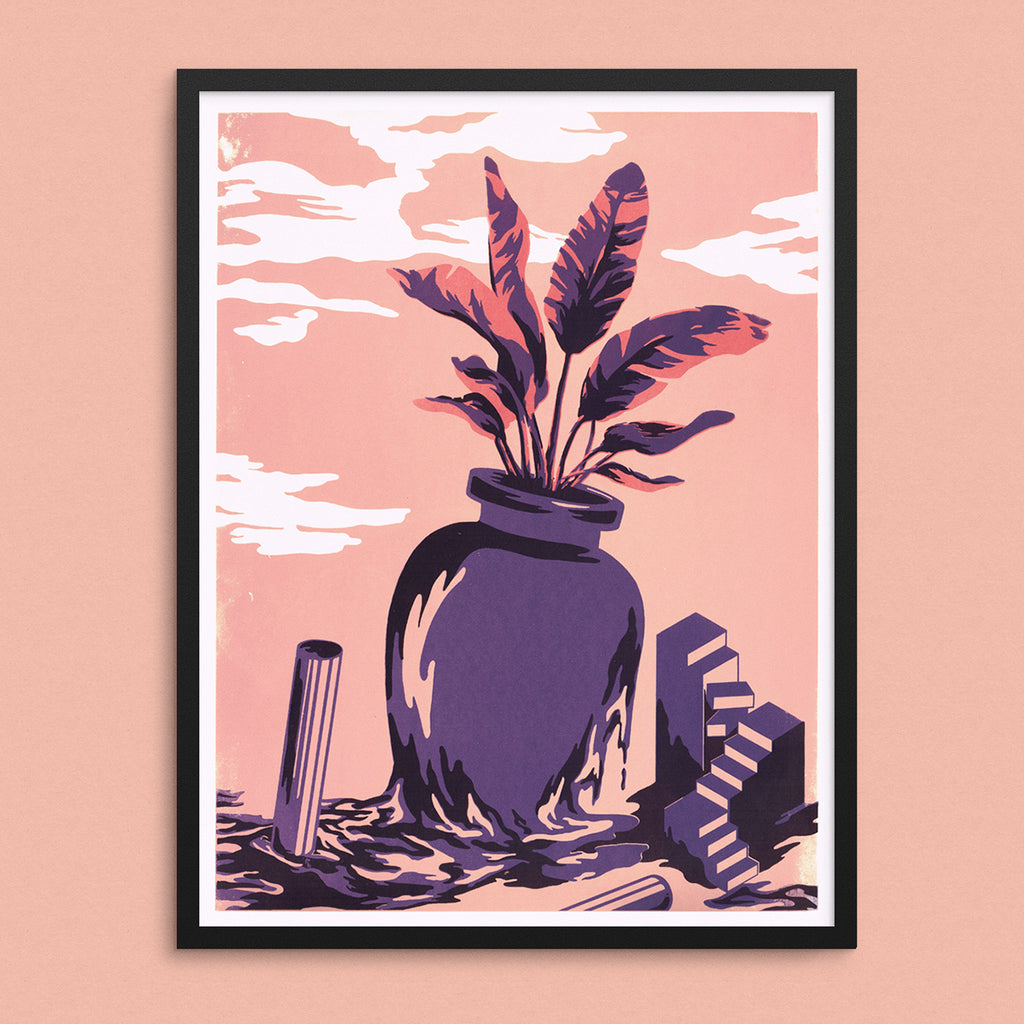 Still, Life Screen-Print Poster