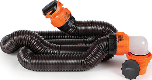 15' Rhino Flex Sewer Hose Kit