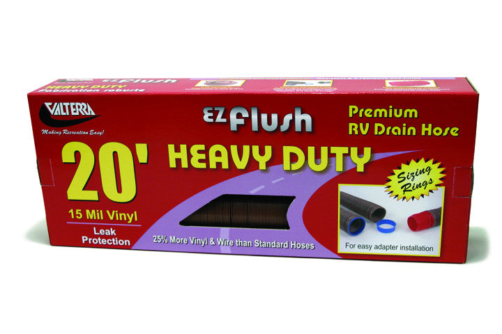 EZ Flush H.D. 20' Sewer Hose