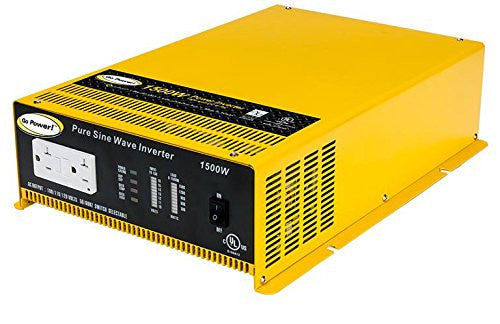 Go Power 1500 Watt Inverter