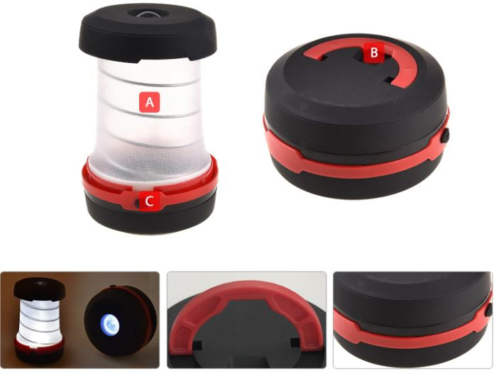 2 in 1 Pop-Up Flashlight LED