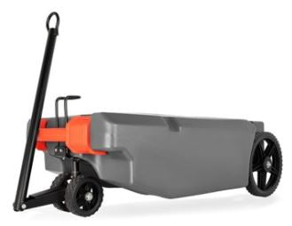 Rhino Tote Tank with Steerable Wheels, 36 Gallon