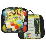 Stream Machine Lighted Bocce Set