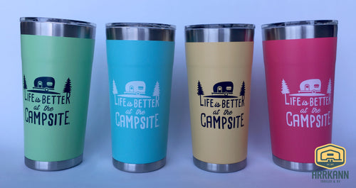 20 oz Life is Better at the Campsite Tumbler