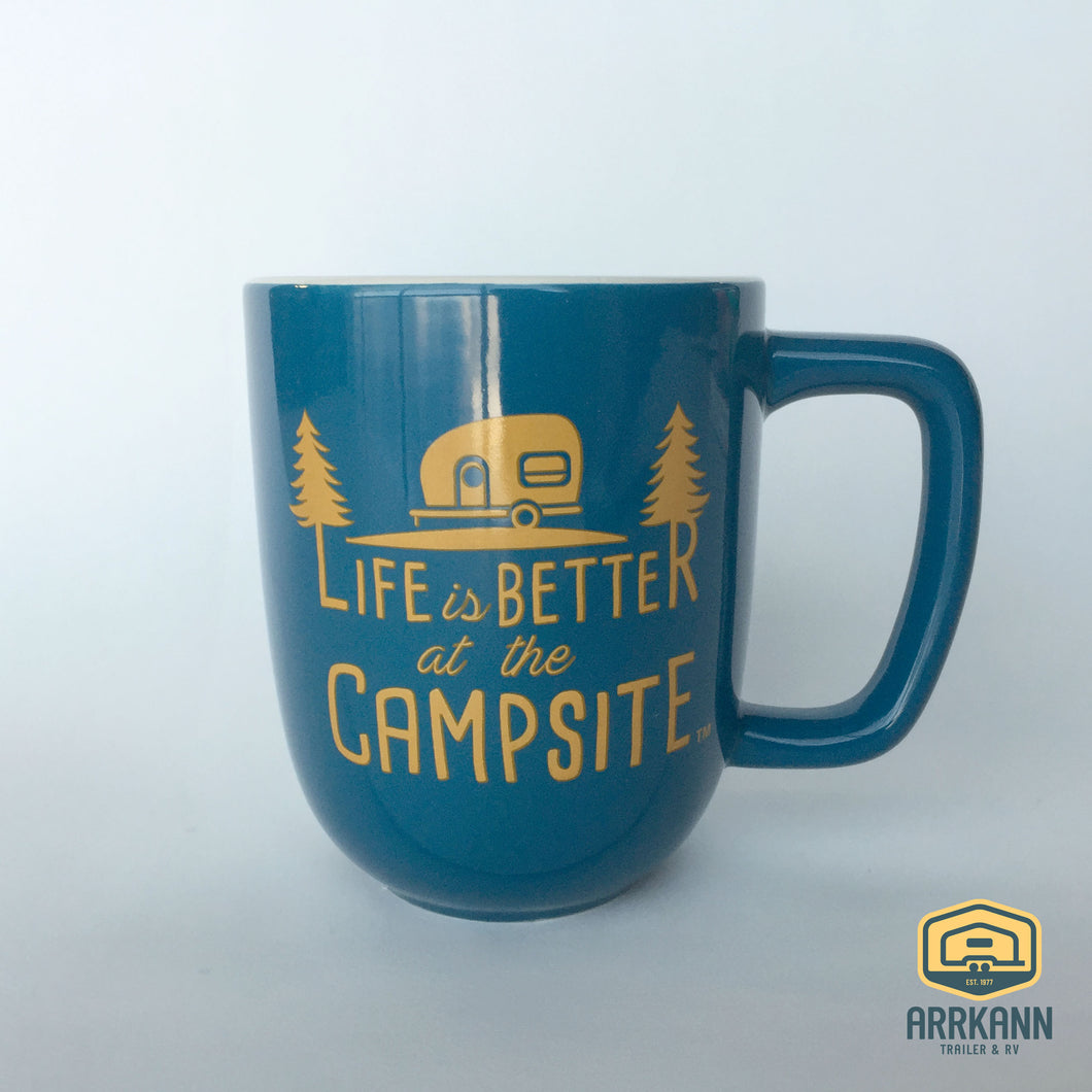 12 oz Life is Better at the Campsite Mug