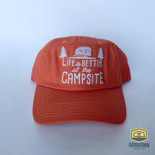 Life is Better at the Campsite Ball Cap