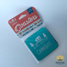Life is Better at the Campsite Coaster 2pk