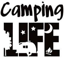 Camping Decals/Stickers - on sale