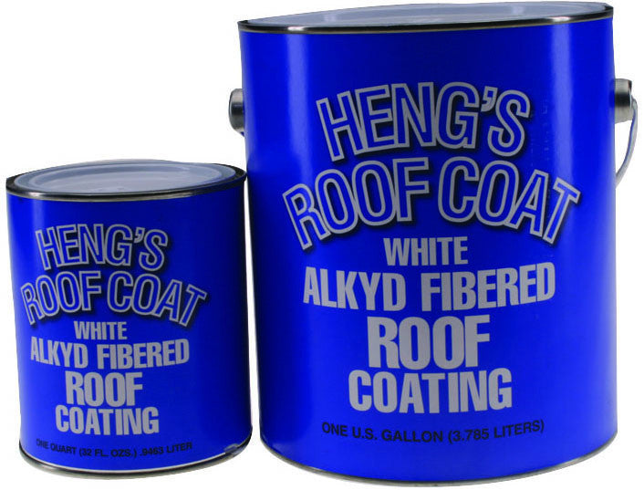Heng's Roof Coating White, Gal