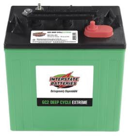 Interstate Batteries 6 Volt Golf Car Battery