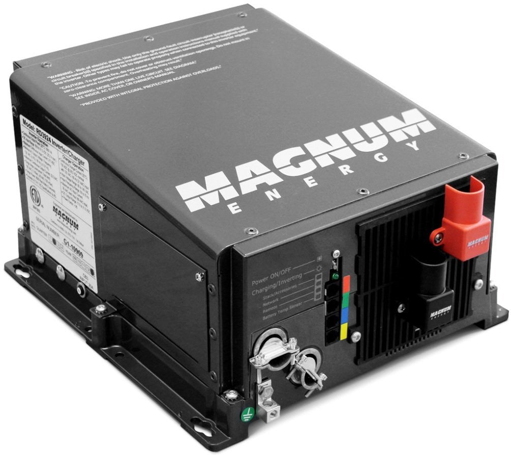 Magnum ME2012-20B 2000 Watt 12 Volt Modified Sine Wave Inverter / 100 Amp PFC Charger / 2-20A AC Breakers - on sale