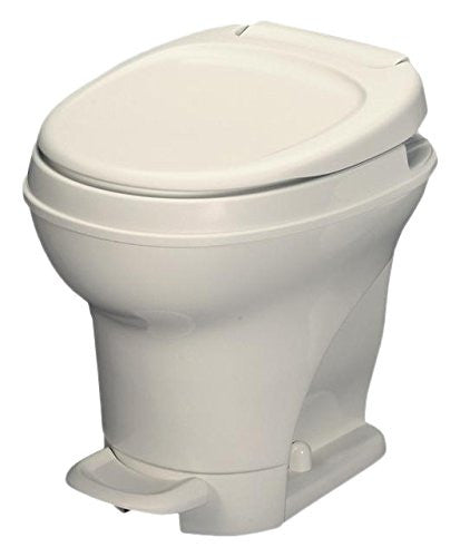 Aqua Magic High Profile Foot Flush - White