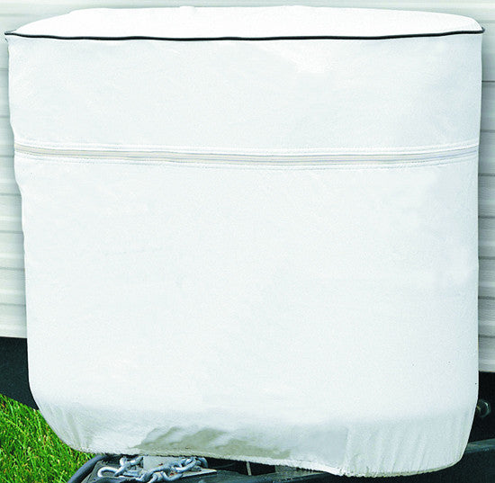 Vinyl Tank Cover (Double 20 - LB Snow White)