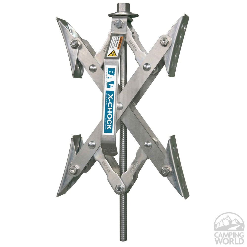 X-Chock (Pair with 1 Raachet Wrench)