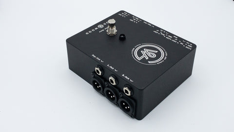 """XLR and 1/4"""" outputs Side Guitar"""
