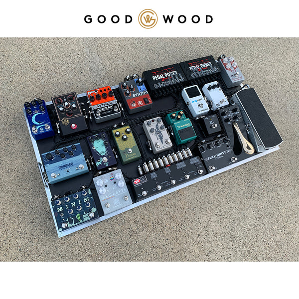 Pedalboard Setup with Voodoo Labs PEdal power 2 plus