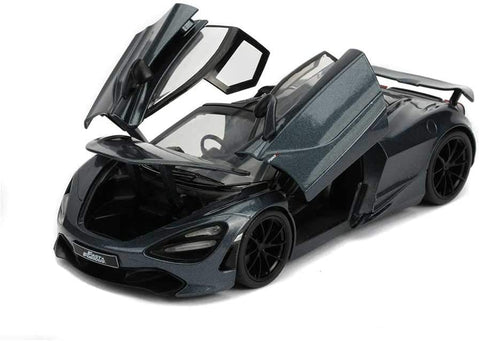 Fast and Furious Hobbs and Shaw McLaren 720S - 1:24 Die-Cast Metal Model Collectable Toy Car
