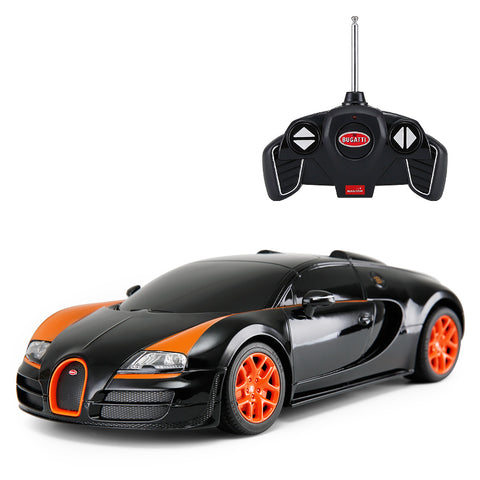 Bugatti Grand Sport Vitesse - 1:18 R/C Car - Black