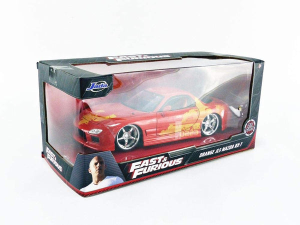Fast and Furious Mazda RX-7 1993 - 1:24 Die-Cast
