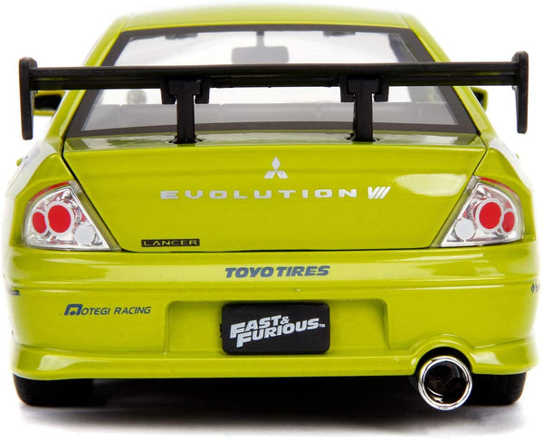Fast and Furious Brian's Mitsubishi Lancer Evo - 1:24 Die-Cast