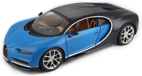 Bugatti Chiron 1/18 Full Scale Blue