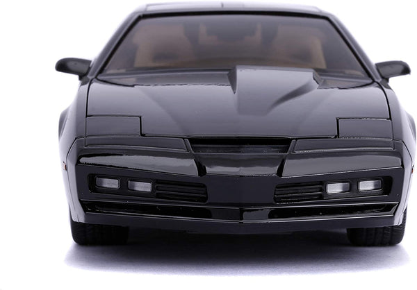 Knight Rider KITT Pontiac Firebird w. Lights - 1:24 Die-Cast Car