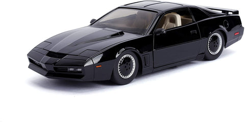 Knight Rider KITT w. Lights - 1:24 Die-Cast Metal Model Collectable Toy Car