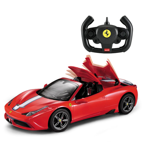 Ferrari 458 SE Auto Convertible - 1:14 R/C Car - Red