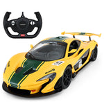McLaren remote control car yellow